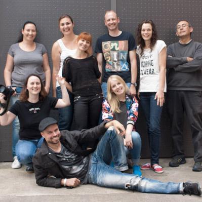 Juliane Kocher, Tobias Fröhlich, Kim Einicke, Beatrix Mutschier, Patrycja Zscherpe, Conny Stecker und Manuela Bäßler