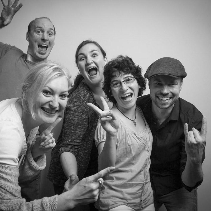 Oliver Stoll, Michaela Polizoaki, Conny Stecker, Ilona Levciuc & Angie Hinz