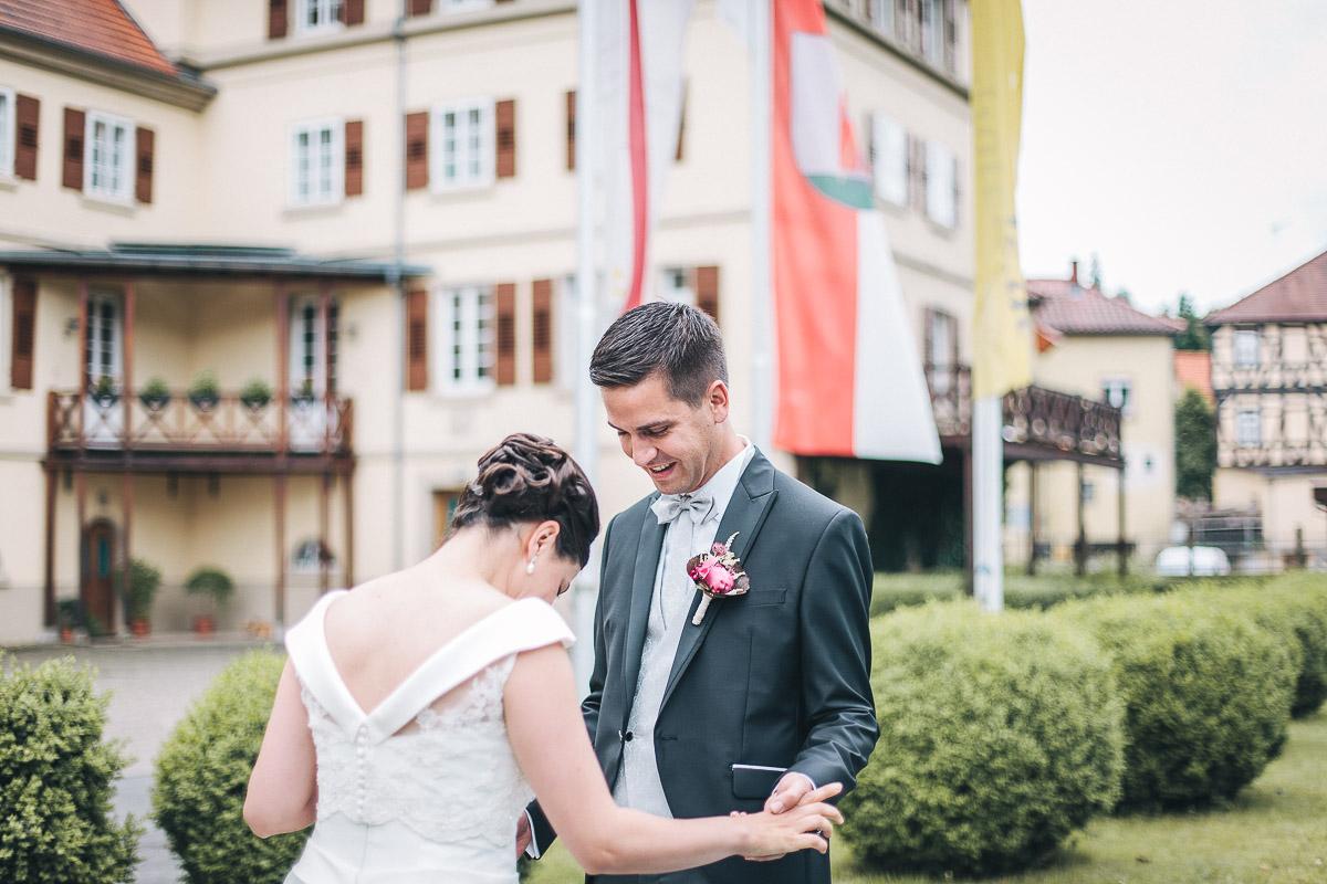 Hochzeitsfotograf Stuttgart Oliver Lichtblau Hochzeitsreportage Schlosshotel Neckarbischofsheim 32