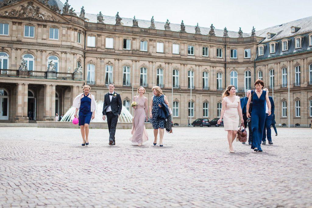 Hochzeitsfotograf Stuttgart Oliver Lichtblau Standesamt Hochzeit Neues Schloss Stuttgart 18