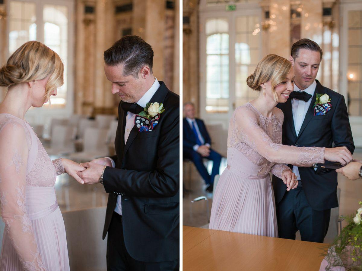 Hochzeitsfotograf Stuttgart Oliver Lichtblau Standesamt Hochzeit Neues Schloss Stuttgart 9