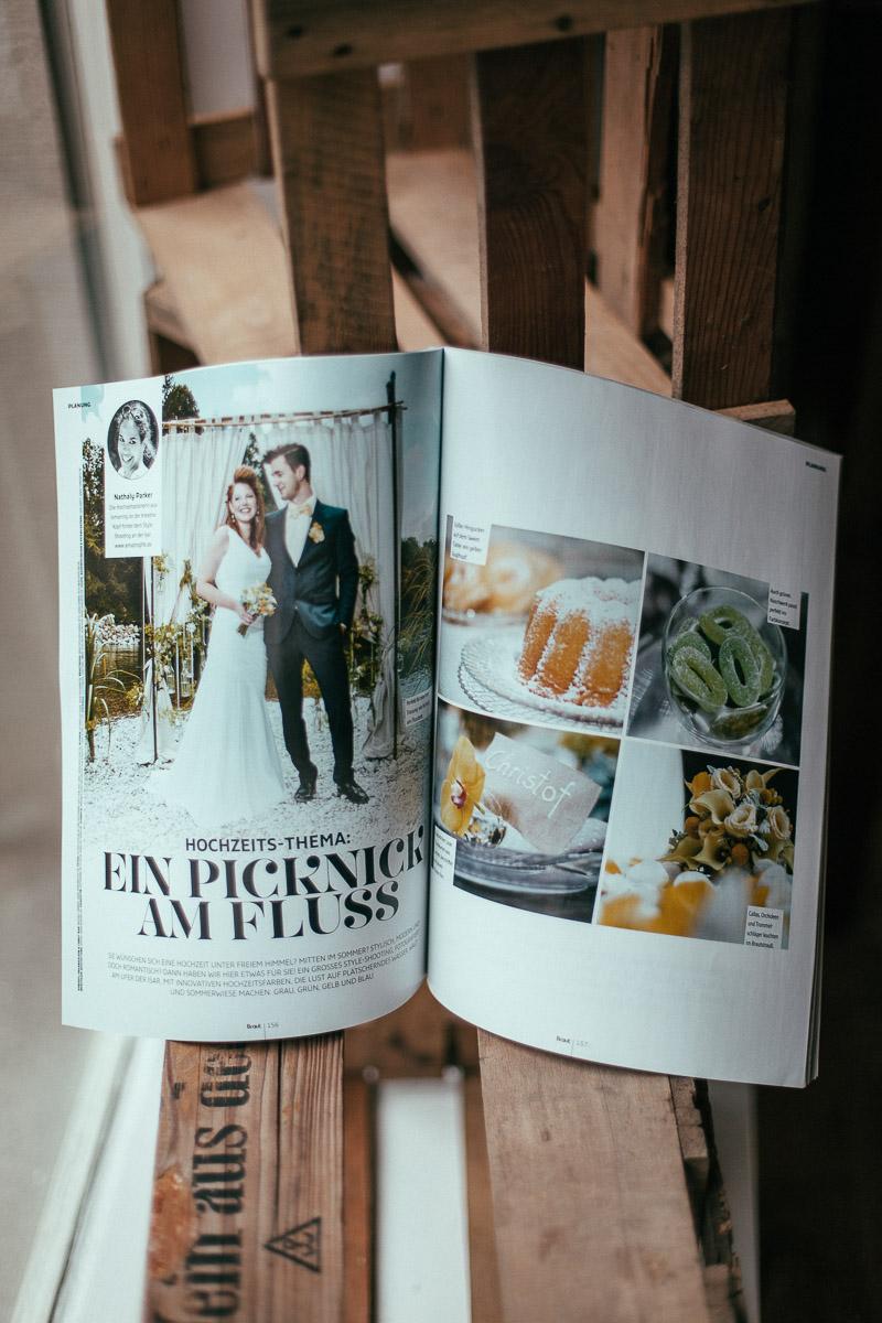 Hochzeitsfotograf Stuttgart Oliver Lichtblau Zeitschrift Braut und Braeutigam 1