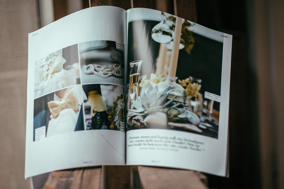 Hochzeitsfotograf Stuttgart Oliver Lichtblau Zeitschrift Braut und Braeutigam 2