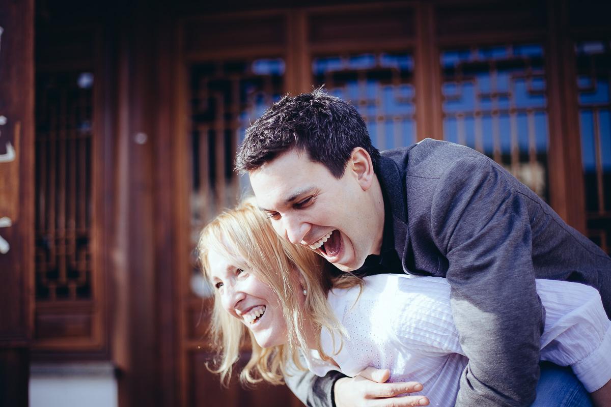 Paarshooting Engagement Shooting Hochzeitsfotograf Oliver Lichtblau Chinesischer Garten Stuttgart 1