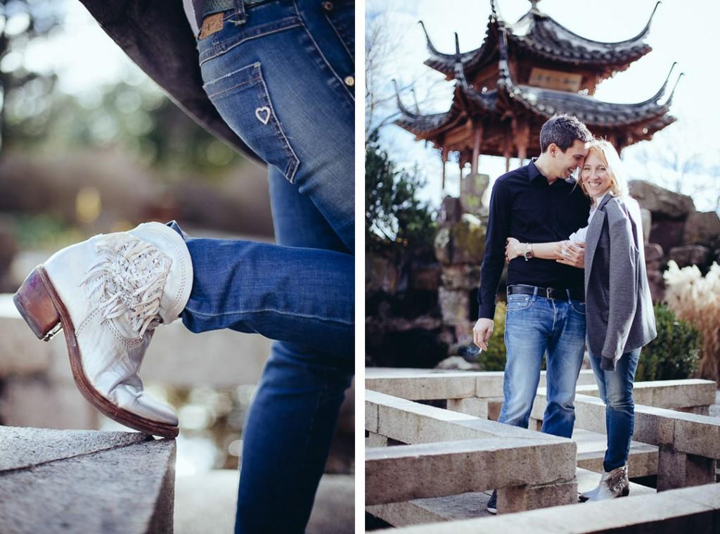 Paarshooting Engagement Shooting Hochzeitsfotograf Oliver Lichtblau Chinesischer Garten Stuttgart 3