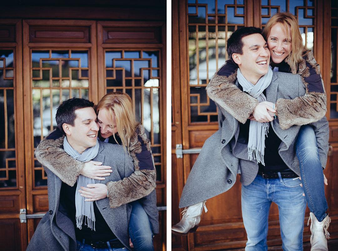 Paarshooting Engagement Shooting Hochzeitsfotograf Oliver Lichtblau Chinesischer Garten Stuttgart 5